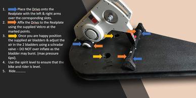 elite turbo trainer instructions