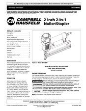 Campbell hausfeld nail gun manual