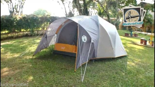 coleman bayside 8 person tent instructions
