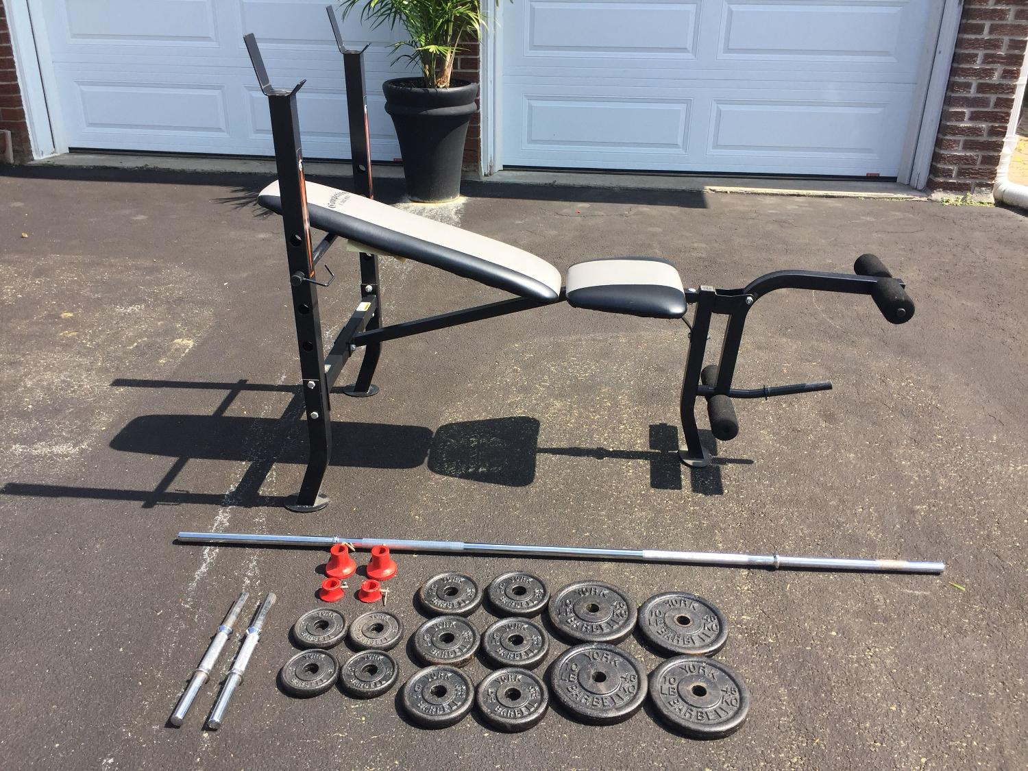 competitor ol school muscle weight bench manual