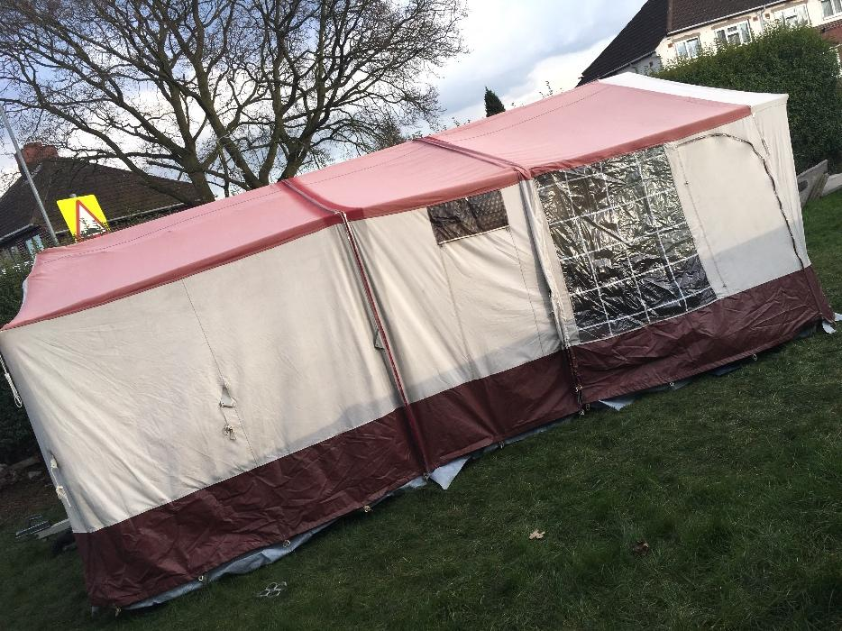 conway camargue trailer tent instructions