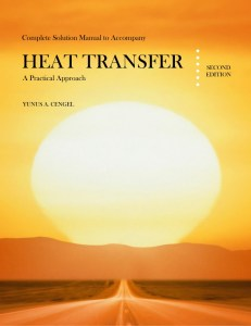 Solution manual heat and mass transfer cengel 5th edition pdf