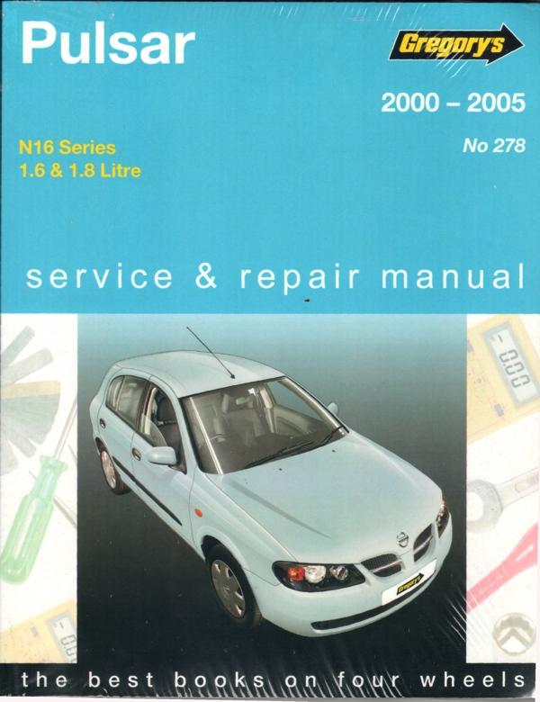 Nissan pulsar 2005 manual pdf