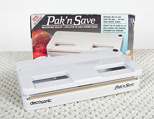 decosonic pak n save manual