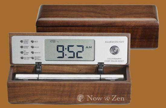 digital zen alarm clock manual