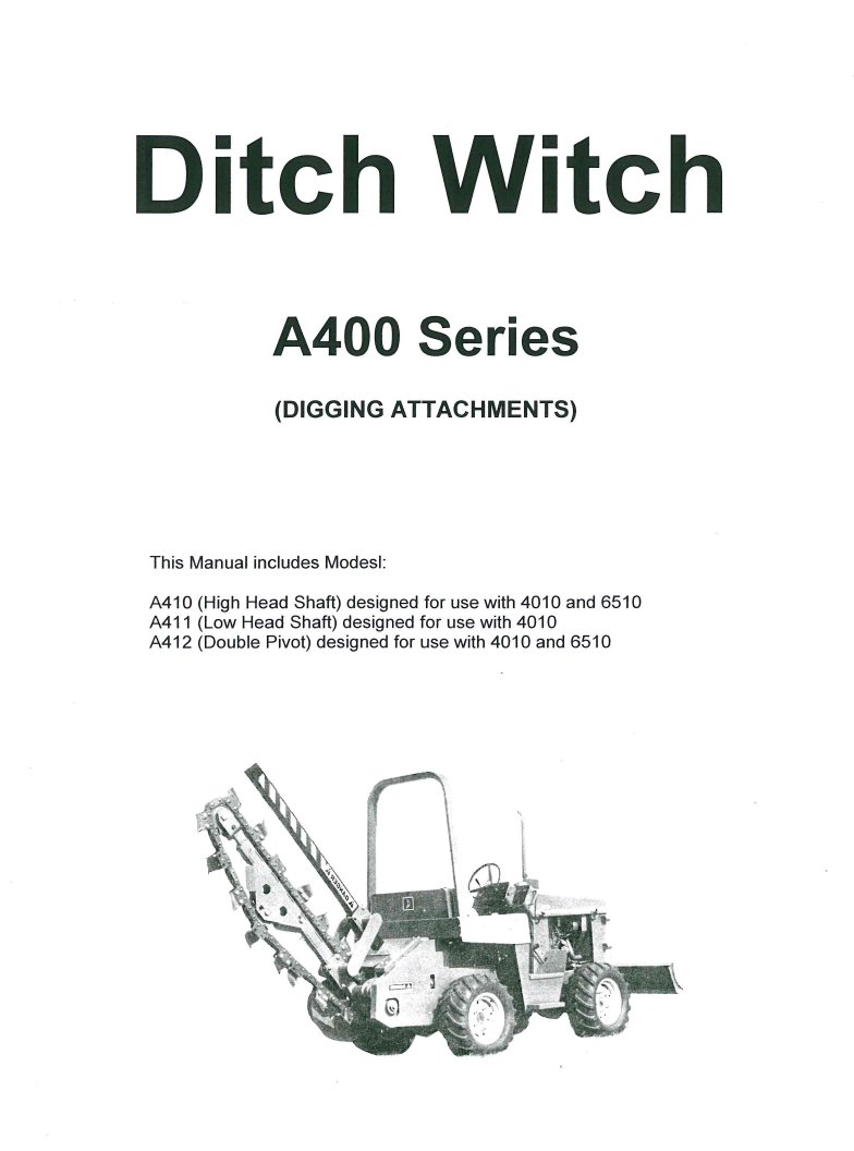 ditch witch c99 parts manual