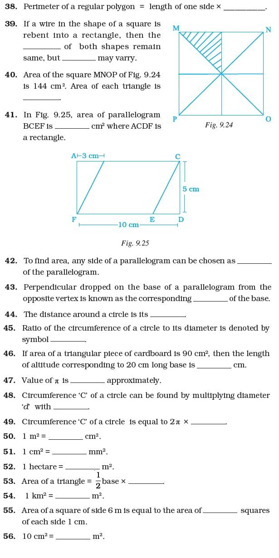 Grade 7 area and perimeter test pdf