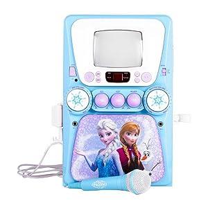 frozen karaoke machine user manual