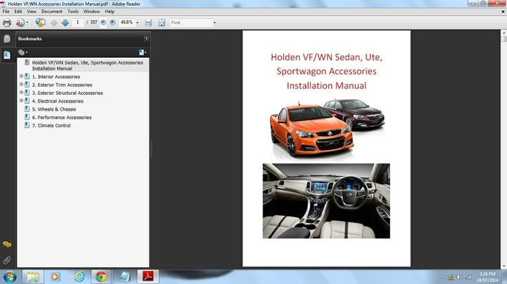 vr commodore workshop manual free download