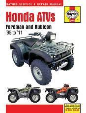 honda trx 400 foreman service manual