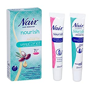 nair lip hair removal instructions