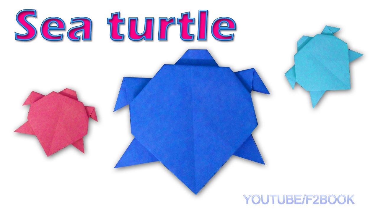 origami turtle instructions pdf