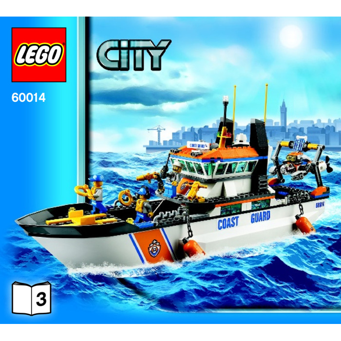 Lego coast guard ship instructions 60014