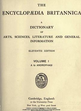 Encyclopedia britannica volume 1 pdf