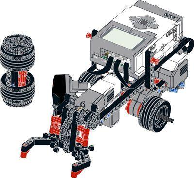 ev3 45444 turtle bot building instruction