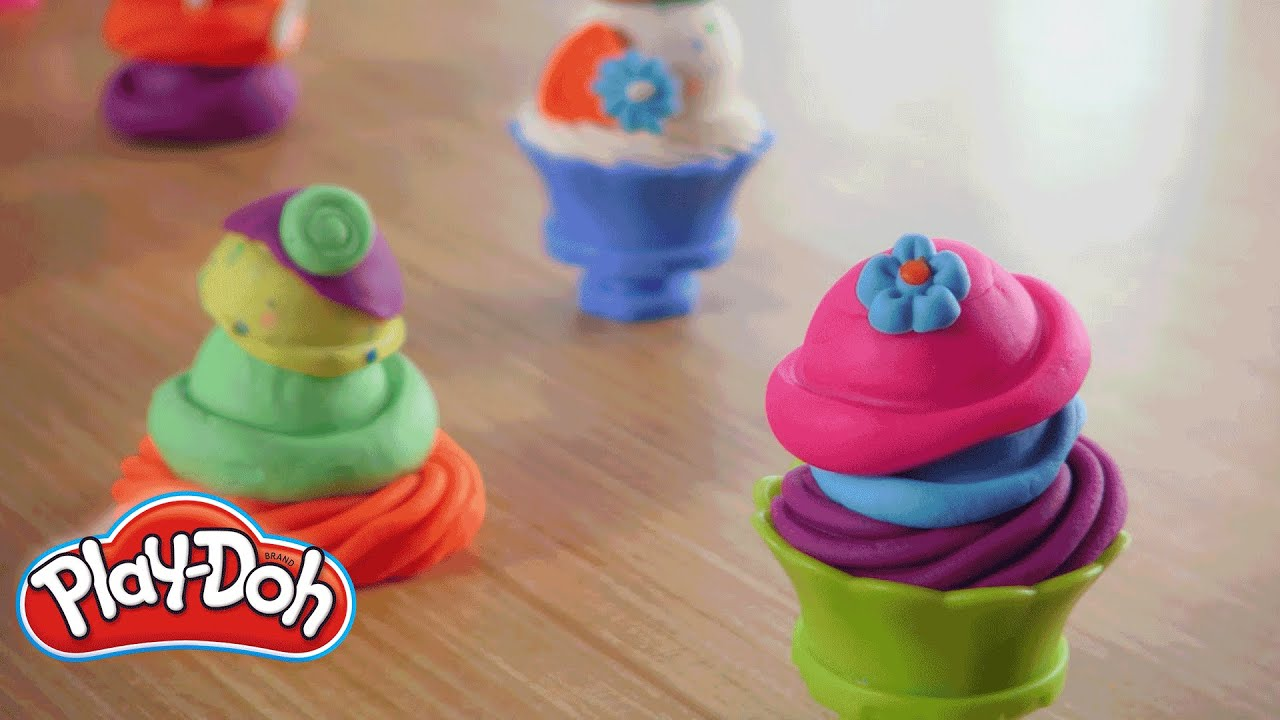 play doh ice cream castle instructions