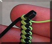 butterfly gimp bracelet instructions