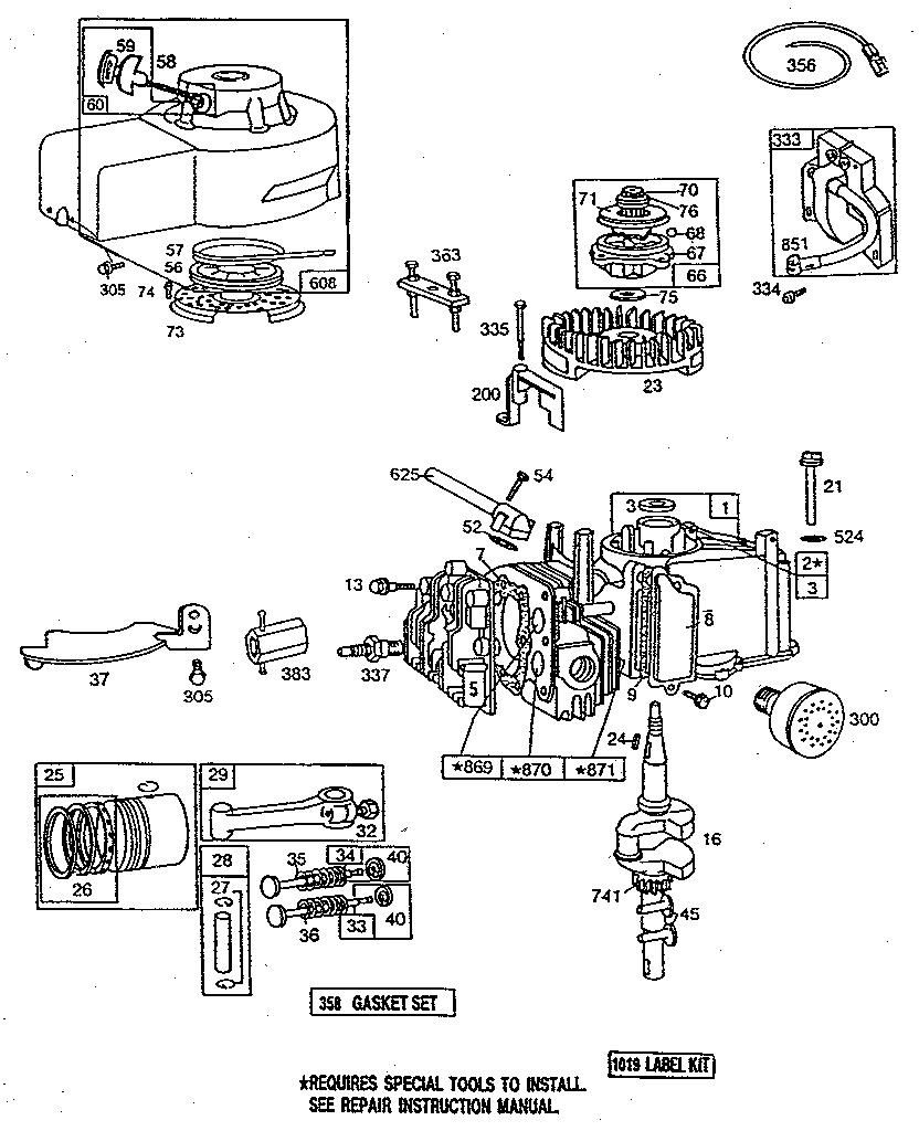 Briggs and stratton 92502 manual