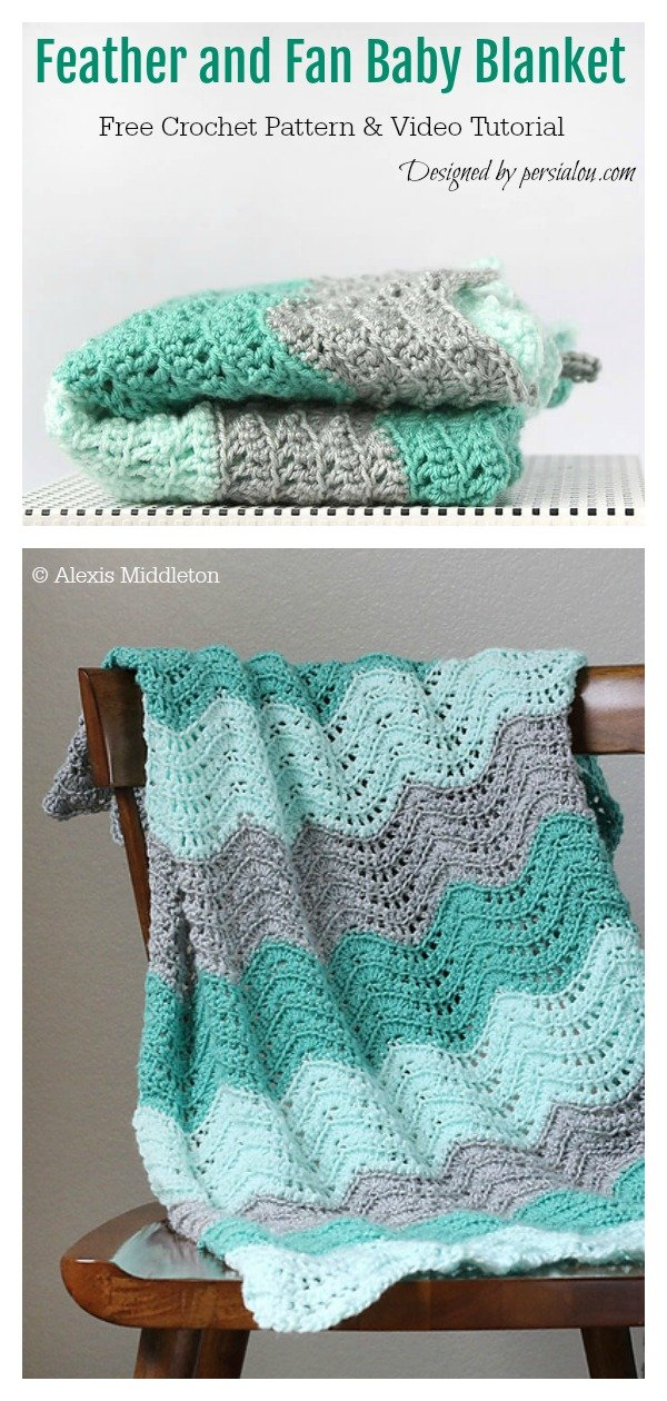 feather stitch crochet instructions