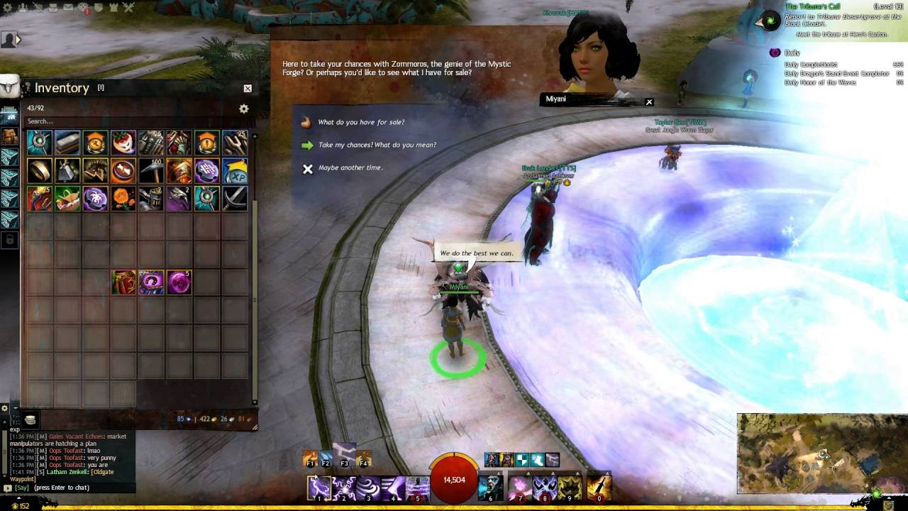 Guild wars 2 how to change ascended armor stats