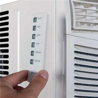 haier air conditioner remote control manual
