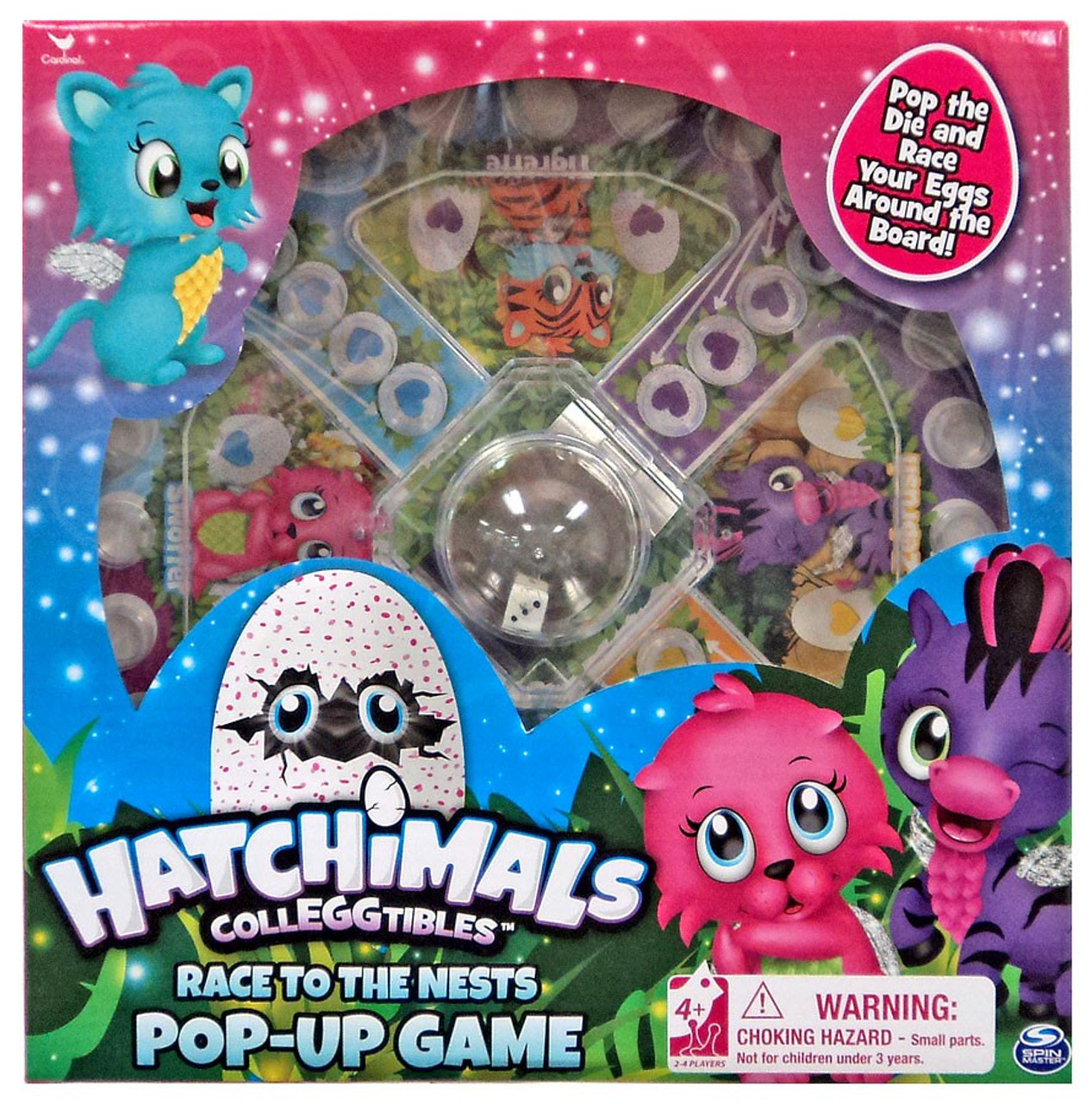 hatchimals board game instructions