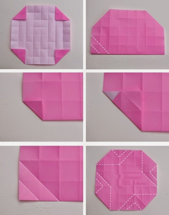 how to make an origami rose instructions with pictures