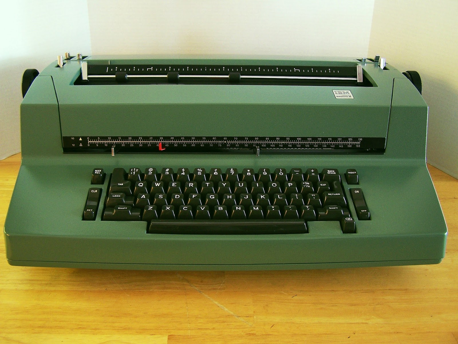 Ibm selectric parts and adjustment manual
