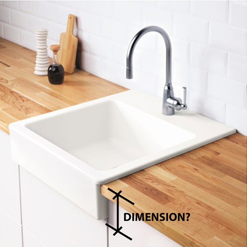 Ikea domsjo sink installation instructions