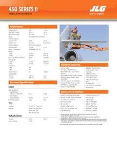 Jlg 450aj series ii parts manual