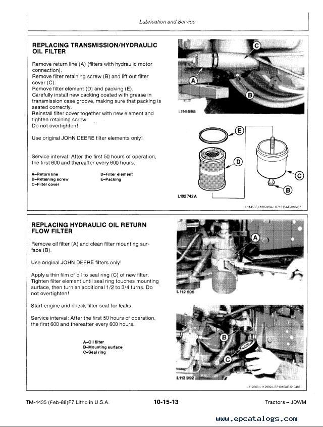 john deere 2355 service manual