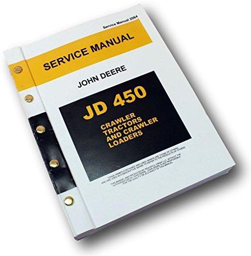 john deere 450c dozer repair manual