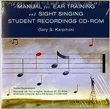 karpinski manual for ear training