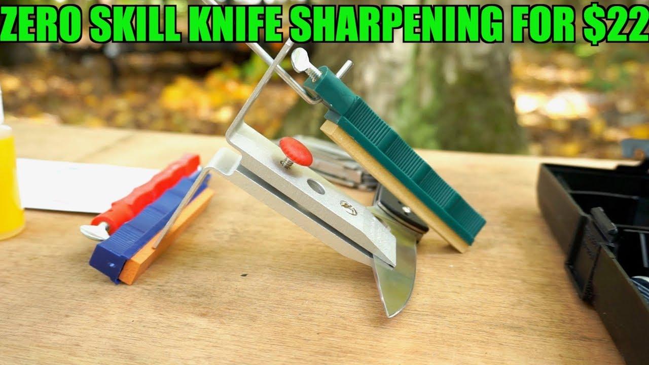 Lansky knife sharpening angle guide