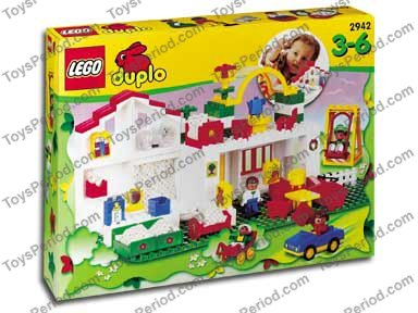 lego duplo playhouse instructions