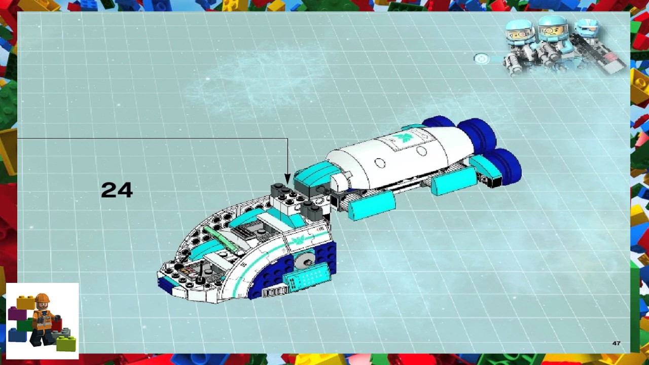 lego galactic titan instructions