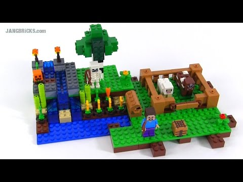Lego minecraft instructions the farm