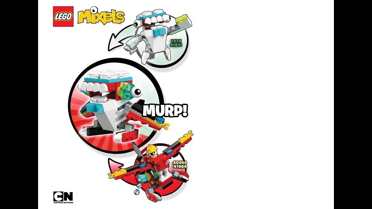 lego mixels series 4 max instructions