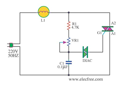 Light dimmer circuit using triac pdf