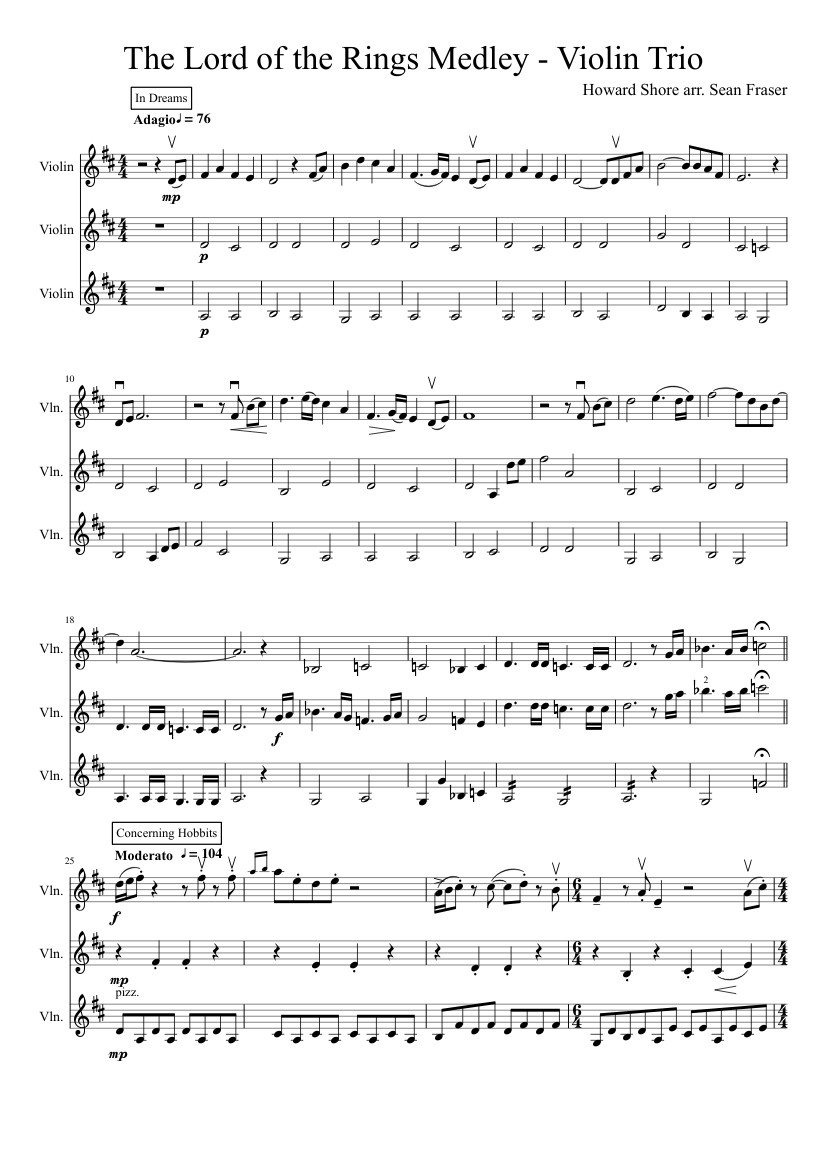 Lord of the rings piano sheet music pdf