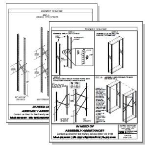 lyon shelving assembly instructions