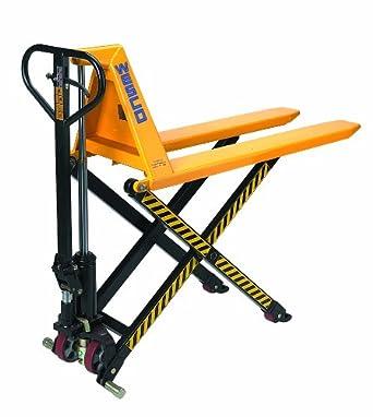 manual high lift pallet truck