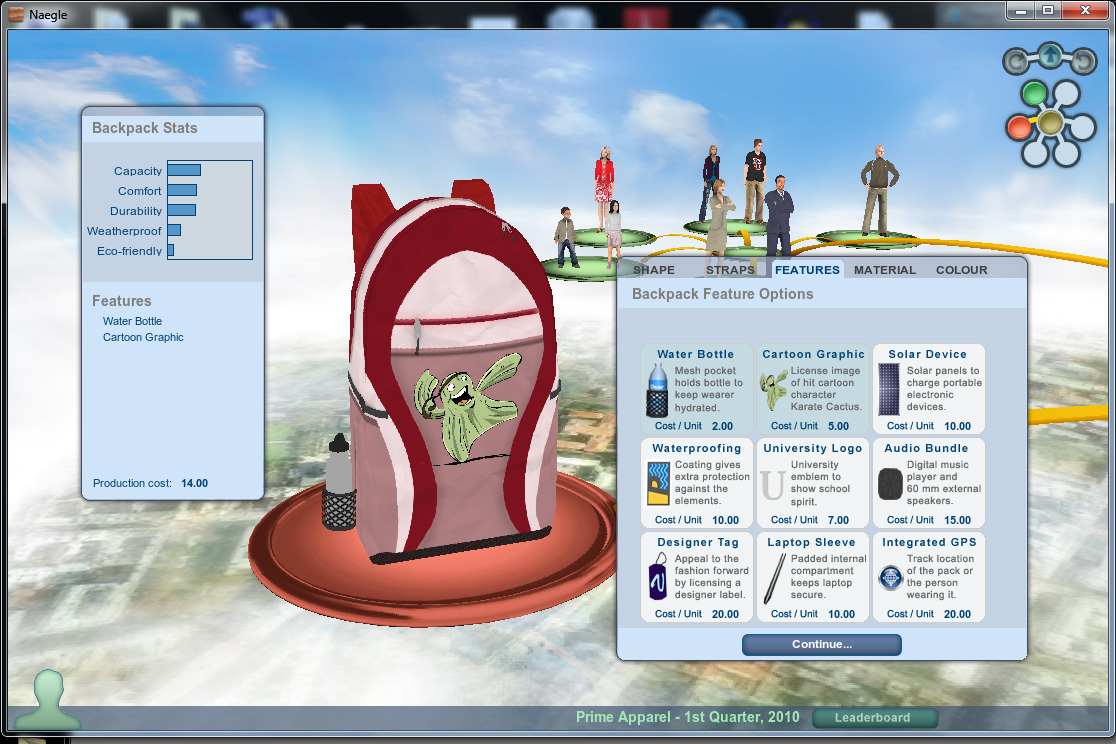Mcgraw hill backpack simulation how to win