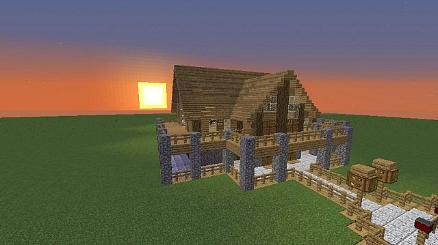 minecraft construction handbook house instructions