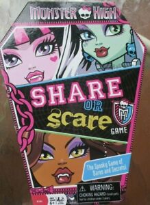 monster high share or scare instructions