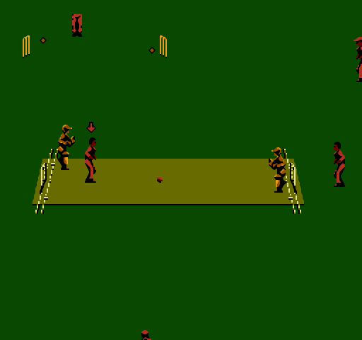 nes super international cricket manual