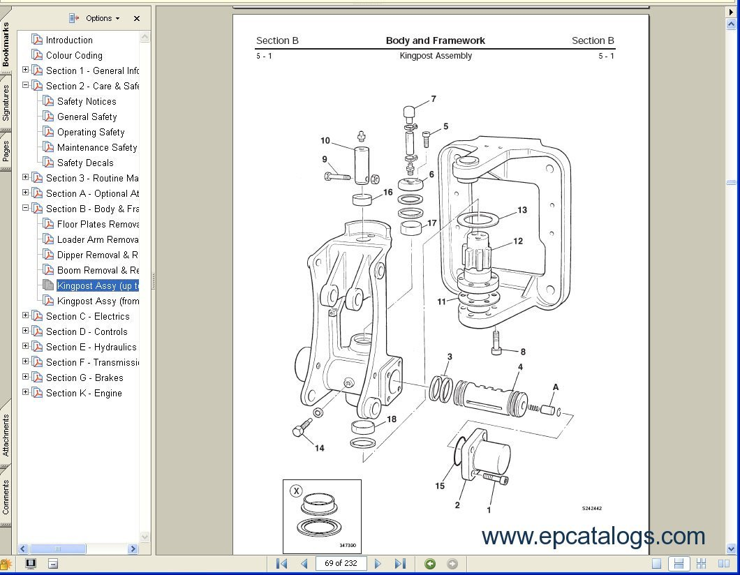 new holland sc 430 service manual