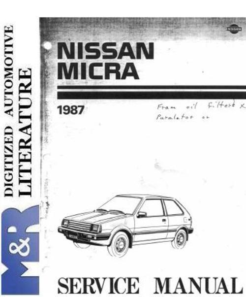 nissan micra k12 service manual pdf