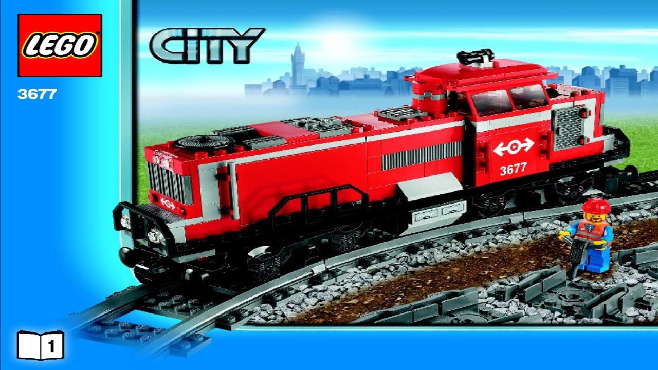 old lego train instructions