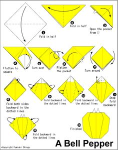 origami flying saucer instructions